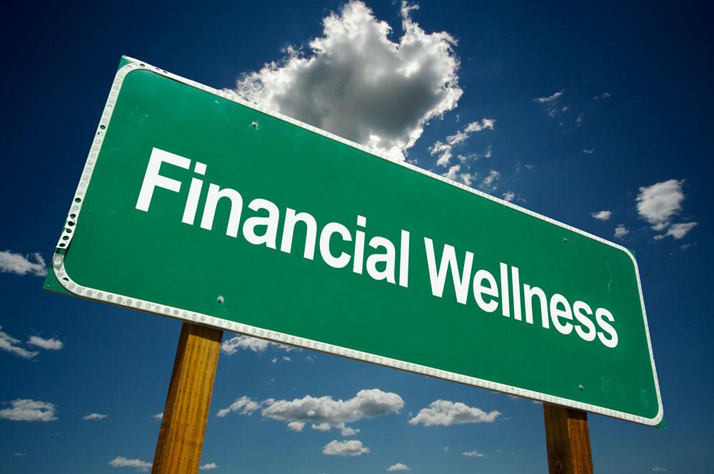 Financial Wellness Sign